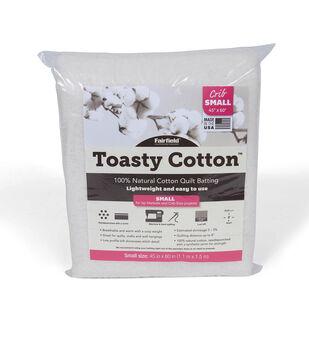 Fairfield Toasty Cotton Batting-Crib