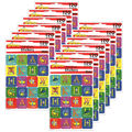 Dr. Seuss ABC Theme Stickers 12 Packs