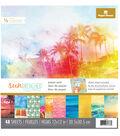 Paper House Sun Drenched Pack of 48 12\u0027\u0027x12\u0027\u0027 Paper Pad