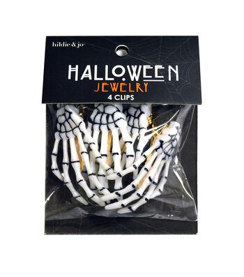 hildi & jo Halloween Skeleton Hands Hair Clips