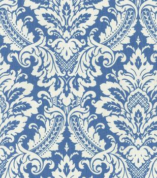 "Waverly Upholstery Fabric 54""-Warren Cornflower"