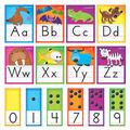 TREND Standard Manuscript Bulletin Board Set-Awesome Animals & Letters
