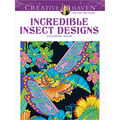 Adult Coloring Book-Creative Haven Incredible Insect Designs