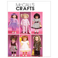 McCall\u0027s Crafts Doll Clothes-M6005