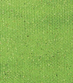 Metallic Confetti Netting Fabric