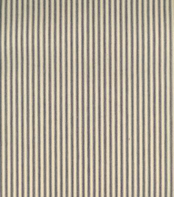 Cotton Pillow Ticking Utility Fabric 32''-Blue