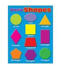 Basic Shapes Learning Chart 17\u0022x22\u0022 6pk