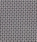 Keepsake Calico Cotton Fabric-Silver Tile On Black
