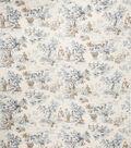 Home Decor 8\u0022x8\u0022 Fabric Swatch-Jaclyn Smith Cleo  Cobalt