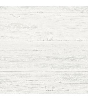 WallPops NuWallpaper Shiplap Peel and Stick Wallpaper