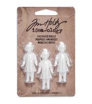 "Idea-Ology Salvaged Dolls 1.75"" 3/Pkg-, , hi-res"