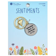 Blue Moon Beads Sentiments Pendant-Important To U, , hi-res