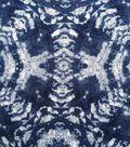 Knit Fabric 57\u0027\u0027-Navy Kaleidoscope Tie Dye