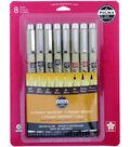 Pigma Micron 8 pk Pens-Sepia