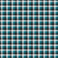 Super Snuggle Flannel Fabric-Skylar Lapis Black Plaid