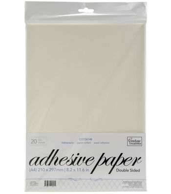 Couture Creations 20 pk A4 Double-sided Adhesive Jac Papers