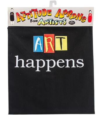 Attitude Artist Apron Black-Art Happens