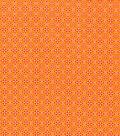 Keepsake Calico Cotton Fabric 43\u0022-Orange Pepper Intricate Diamond