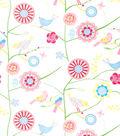 Home Decor 8\u0022x8\u0022 Fabric Swatch-Print Fabric Eaton Square Draw  Lavender