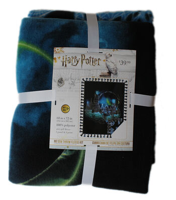 "Harry Potter No-Sew Fleece Throw 72""-Hogwarts Constellation"
