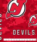 New Jersey Devils Fleece Fabric 60\u0022-Tossed