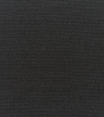 """Sunbrella Outdoor Solid Canvas Fabric 54""""-Black"""