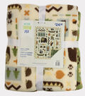 No Sew Fleece Throw 48\u0022-Northern Exposure Aspen