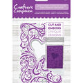 Crafter\u0027s Companion 4.25\u0027\u0027x5\u0027\u0027 Cut & Emboss Folder-Heart Flourish