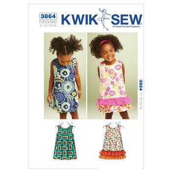 Kwik Sew Toddler Dress-K3864
