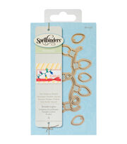 Spellbinders Holiday Die D-Lites 4 Pack Etched Dies-Twinkle Lights, , hi-res