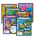 Habitats Learning Charts Combo Pack Set of 6