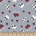 Nightmare Before Christmas Knit Fabric-Jack Master Of Fright