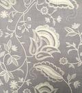 Spring Garden Eyelash 3D Woven Cotton Fabric-Light Gray White
