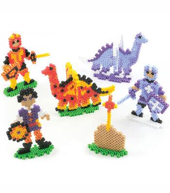 Perler Fun Fusion Fuse Bead Activity Kit Dragons 'N Knights