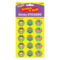 Frolicking Frogs-Pineapple Stinky Stickers 60 Stickers, 12 Packs