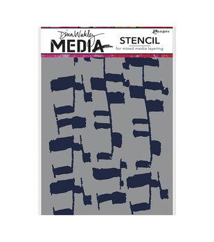 """Dina Wakley Media Stencils 9""""X6""""-Ladders"""