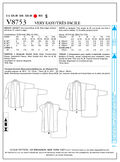 Mccall Pattern V8753 Y (Xsm-Sml-Vogue Pattern