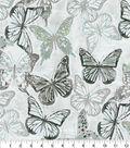Kelly Ripa Home Upholstery Fabric 9\u0022x9\u0022 Swatch-Social Butterfly Shell