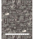 Waverly Upholstery Fabric 54\u0027\u0027-Graphite Easy as Pie