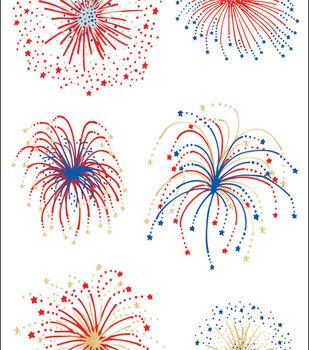 Mrs. Grossman 2 pk 4''x6.5'' Sticker Sheets-Fireworks
