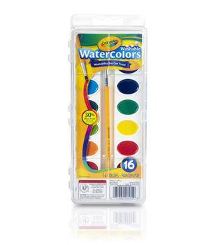 Crayola Watercolor Pan Set 16 Colors