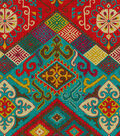 Waverly Lightweight Decor Fabric Swatch 13\u0027\u0027x13\u0027\u0027-Ute Mountain Gem