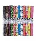 Fat Quarter Novelty Cotton Fabric 18\u0027\u0027x21\u0027\u0027-Assorted Dark
