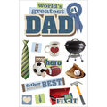 Paper House 3D Stickers-Dad