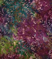 """Legacy Studio Batik Cotton Fabric 43""""-Floral, , hi-res"""