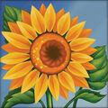 RTO Diamond Mosaic Embroidery Kit 15X15cm-Young Sunflowers