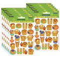 Cinnamon Scented Stickers 12 Packs