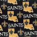 New Orleans Saints Fleece Fabric -State