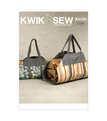 Kwik Sew Crafts Totes & Bags-K4150