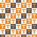 University of Tennessee Volunteers Cotton Fabric-Collegiate Checks